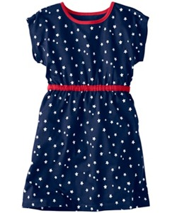 Starry Dress With Heart Cutout by Hanna Andersson