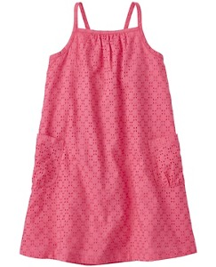 Breezy Back Tie Sundress In Cotton Eyelet by Hanna Andersson