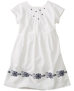 Swiss Dot Dress by Hanna Andersson