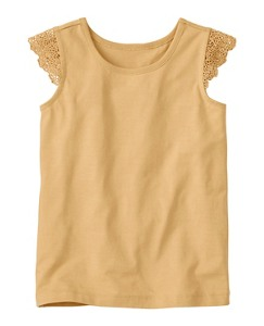 Lace Trim Tank by Hanna Andersson