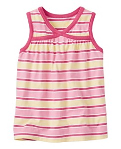Summer Stripe Crossover Tank by Hanna Andersson