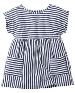 Stripe Happy Pocket Top by Hanna Andersson