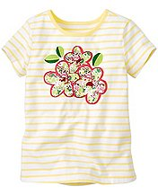 Art Tee With Appliqué by Hanna Andersson