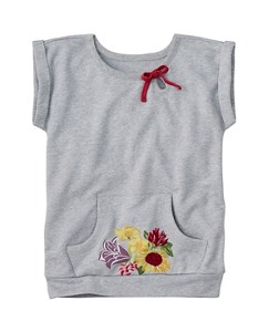 Spring Embroidery Sweatshirt by Hanna Andersson