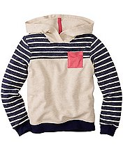 Stripes Forever Hoodie by Hanna Andersson