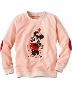 Disney Minnie Mouse Embroidered Sweatshirt by Hanna Andersson
