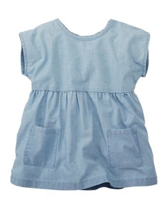 Chambray Pocket Top by Hanna Andersson