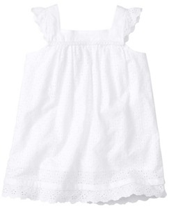 Pretty Breezy Popover In Cotton Eyelet by Hanna Andersson