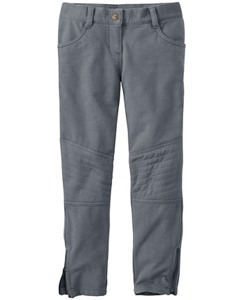 Knee Patch Knit Jeans In French Terry by Hanna Andersson