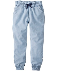 So Soft Chambray Pants by Hanna Andersson