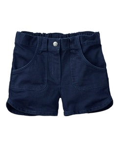 Supersoft Twill Pocket Shorts by Hanna Andersson