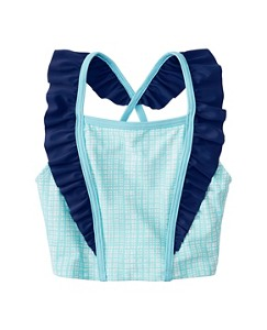 Flutter Kick Tankini Top by Hanna Andersson