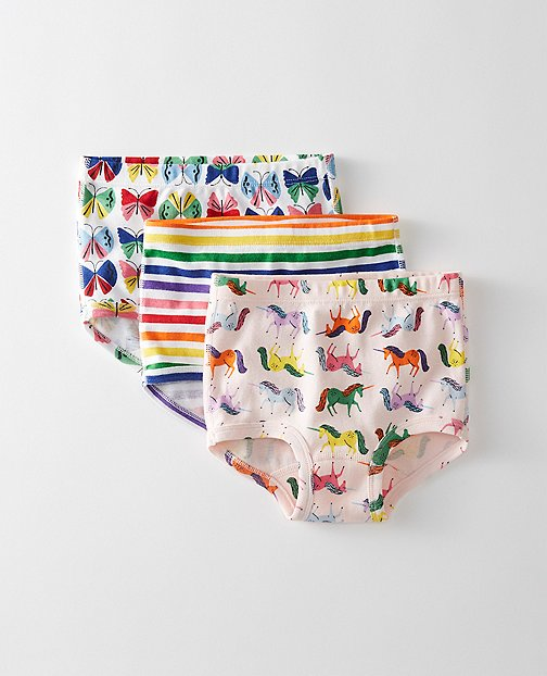 Girls Classic Unders 3 Pack In Organic Cotton by Hanna Andersson
