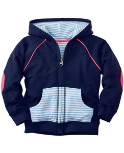 Sport Hoodie In 100% Cotton by Hanna Andersson