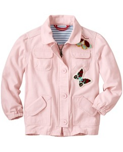 Butterfly Twill Anorak by Hanna Andersson
