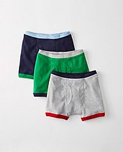 Boys Boxer Briefs 3 Pack In Organic Cotton by Hanna Andersson