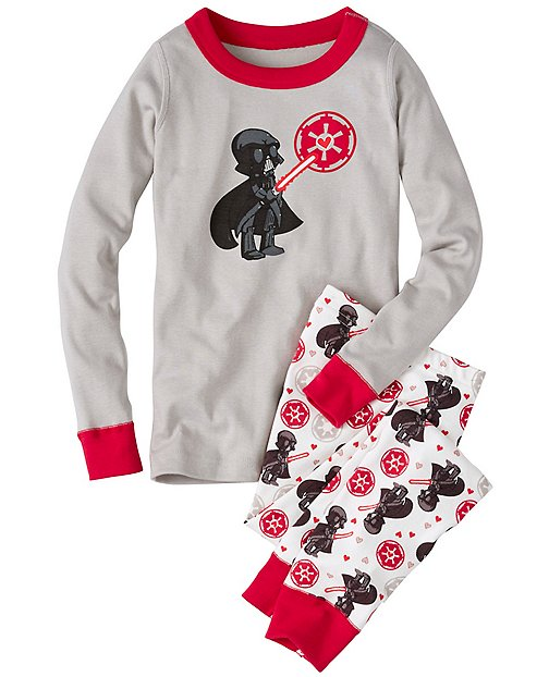 Kids Star Wars™ Long John Pajamas In Organic Cotton by Hanna Andersson