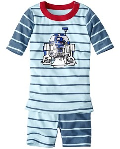 Star Wars™ Short John Pajamas In Organic Cotton by Hanna Andersson
