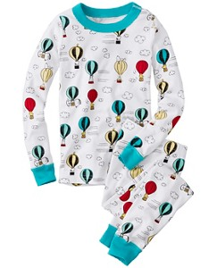 Peanuts Long John Pajamas In Organic Cotton by Hanna Andersson