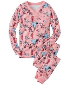 Disney Princess Long John Pajamas In Organic Cotton by Hanna Andersson