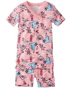 Disney Princess Short John Pajamas In Organic Cotton by Hanna Andersson