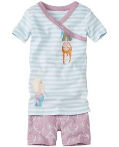 Disney Frozen Short John Pajamas In Organic Cotton by Hanna Andersson