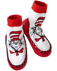 Dr. Seuss Slipper Moccasins by Hanna Andersson
