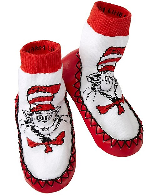 Kids Dr. Seuss Slipper Moccasins by Hanna Andersson
