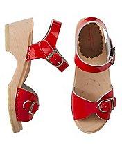 Girls Swedish Sandal Clogs By Hanna