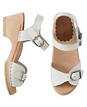 Girls Swedish Sandal Clogs By Hanna