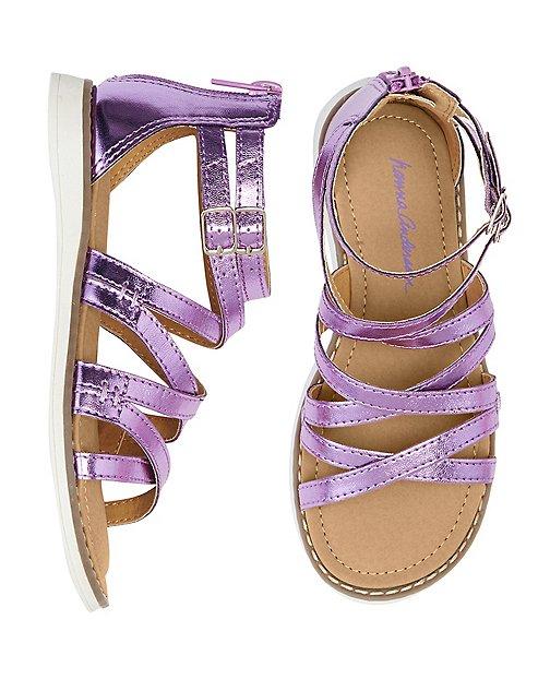 Girls Vera Gladiator Sandals By Hanna