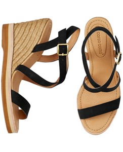 Gladis Wedge Sandals by Hanna Andersson