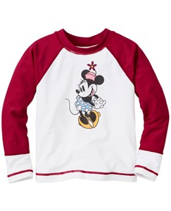 Disney Minnie Mouse Rash Guard Tee by Hanna Andersson