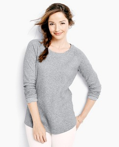 Supersoft Sweatshirt In Pima Jacquard by Hanna Andersson