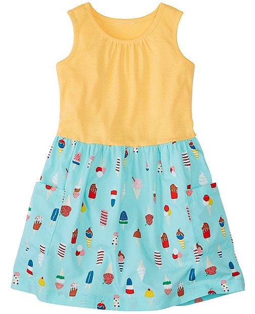 Girls Feeling Sunny Dress by Hanna Andersson