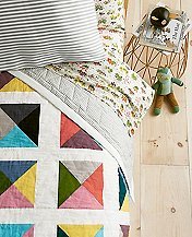 Reversible Patchwork Puzzle Quilt by Hanna Andersson