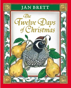 Twelve Days of Christmas By Jan Brett