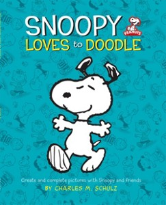 Snoopy Loves To Doodle Book by Hanna Andersson