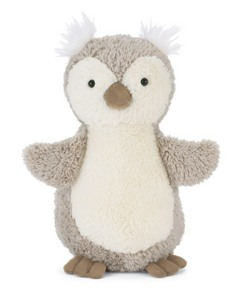 Gray Owl By Jellycat
