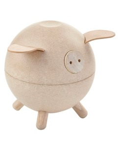 Piggy Bank By Plan Toys
