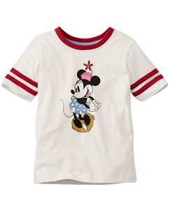 Disney Minnie Mouse Art Tee in Supersoft Jersey by Hanna Andersson