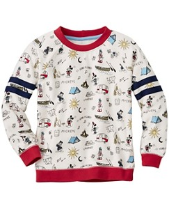Disney Mickey Mouse Varsity Sweatshirt by Hanna Andersson