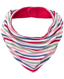 Stripe Happy Bib In Organic Cotton by Hanna Andersson