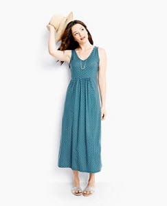Summer Maxi Slipover In Tencel® by Hanna Andersson