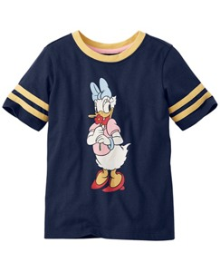 Disney Daisy Duck Art Tee In Supersoft Jersey by Hanna Andersson