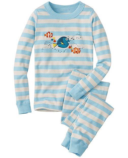 Disney•Pixar Finding Dory Long John Pajamas In Organic Cotton by Hanna Andersson