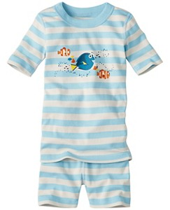 Disney•Pixar Finding Dory Short John Pajamas In Organic Cotton by Hanna Andersson