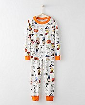 Peanuts Long John Kids Pajamas In Organic Cotton by Hanna Andersson