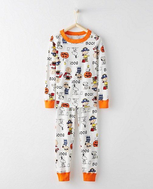 Peanuts Long John Kids Pajamas In Organic Cotton by Hanna Andersson