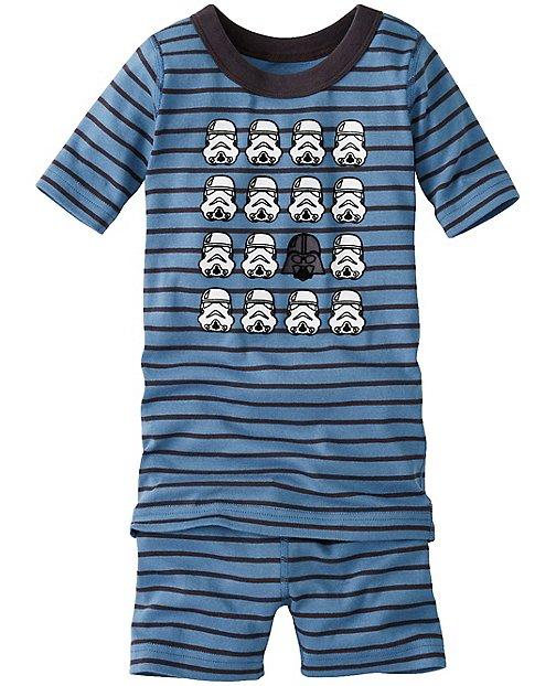 Kids Star Wars™ Short John Pajamas In Organic Cotton by Hanna Andersson